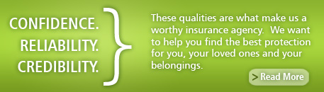 Our Qualities as an Insurance Agency